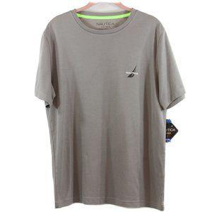 Nautica Men's Sea Breeze Pique Knit T-Shirt Sm C9